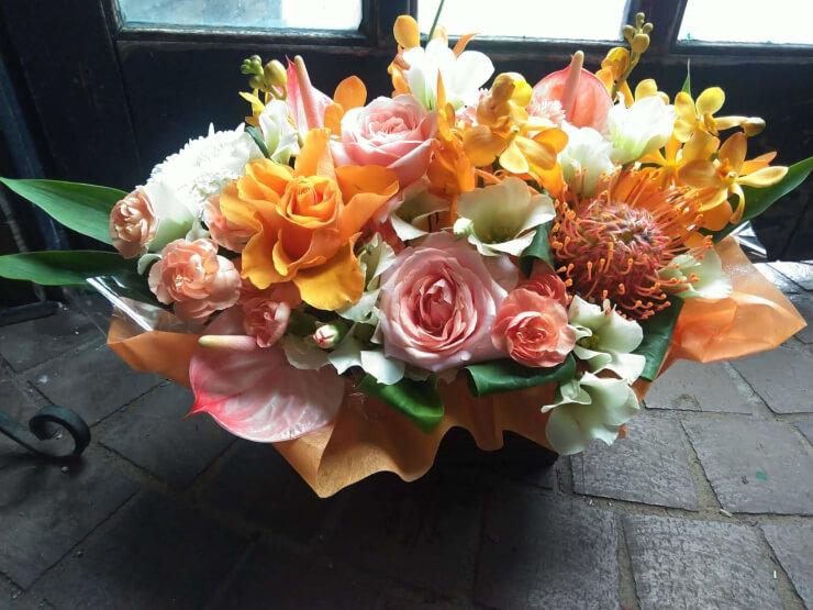 練馬文化センター MANUWAI 30TH HO'IKE 公演祝い花