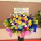 中野サンプラザ PASSPO☆様の解散ライブ公演祝い7colorsアイアンスタンド花