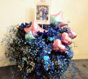 六行会ホ-ル 春川芽生様の舞台「KOICHI SAKAMOTO'S NINJA ZONE」出演祝い花