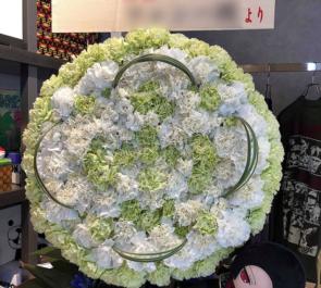THE AKIHABARA CONTAiNER A応P 堤雪菜様の生誕祭イベント祝い家紋モチーフスタンド花