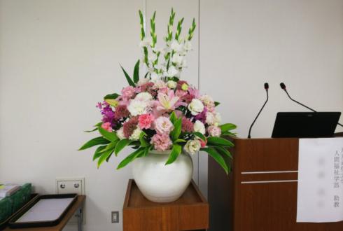東京都庁 東京都産業労働局様の壇上花