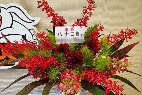 表参道GROUND ハナコ様の『キングオブコント2018』優勝祝い花
