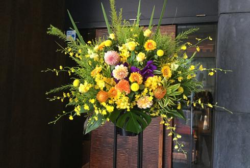 セブンイレブン世田谷四丁目店様の開店祝いスタンド花