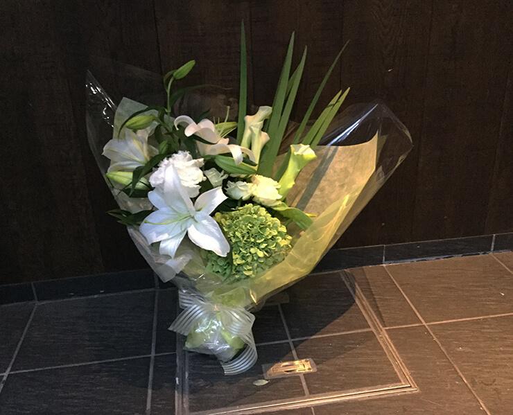 芝浦 誕生日プレゼントの花束
