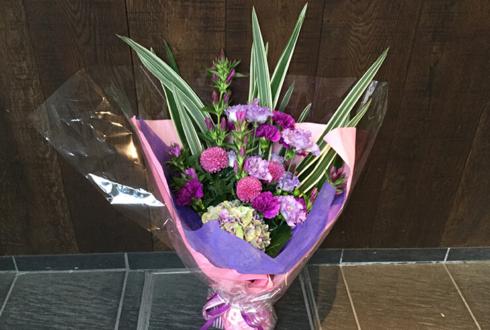 沼津市 誕生日プレゼントの紫系花束