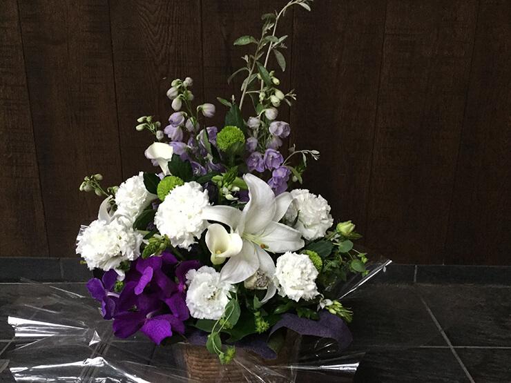 練馬区高松 お祝い花