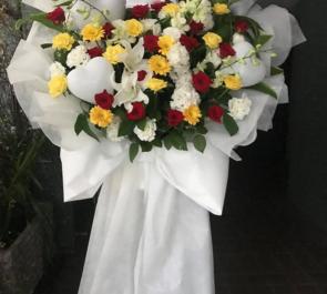 シアターグリーン BOX in BOX THEATER 天野眞隆様の主演舞台『ダイコウシン』花束風スタンド花