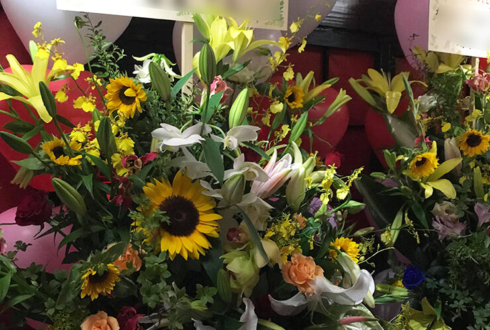 葛飾区東金町 ガ-ルズ-バ-神楽様のバースデーイベントスタンド花
