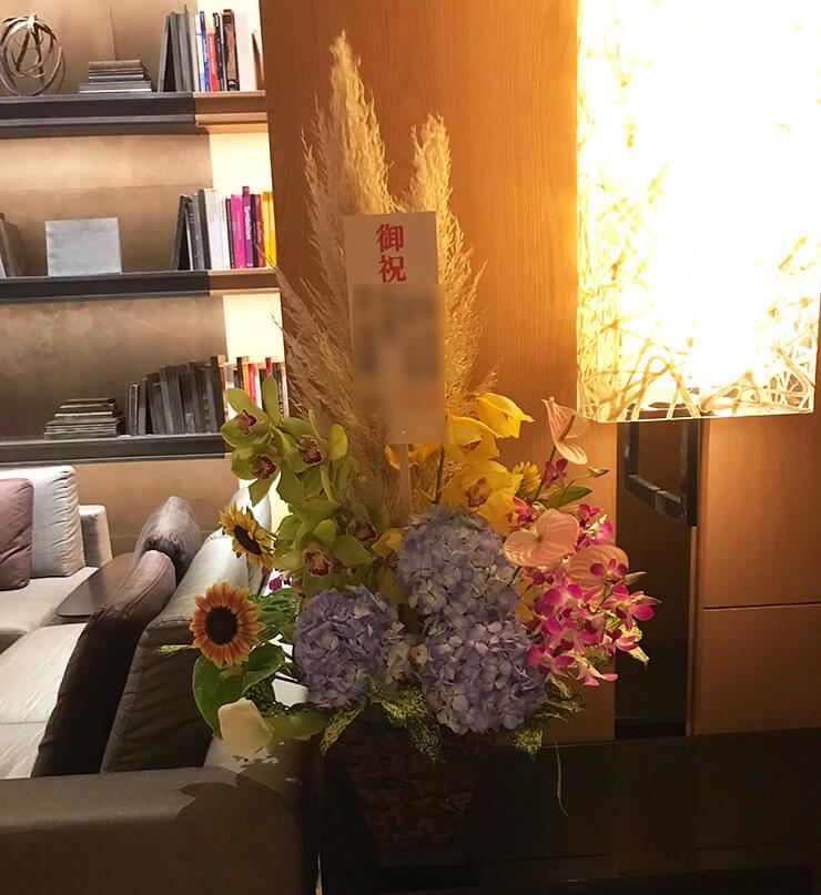 六本木グランドハイアット 結婚祝い花