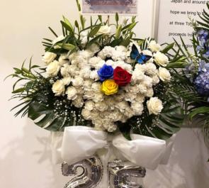 豊洲PIT MALICE MIZER様のライブ公演祝いスタンド花