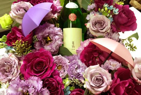 新宿シアターモリエール 江益凛様の舞台『花嫁は雨の旋律』出演祝い楽屋花