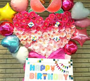 TOKYO FM HALL sora tob sakana 神崎風花様の生誕祭祝いスタンド花