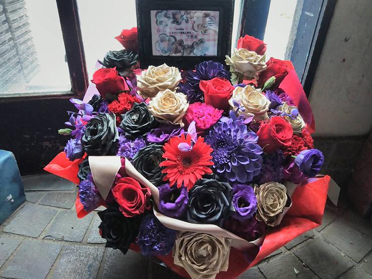 新宿スターフィールド ゆうま様の千秋楽祝い花