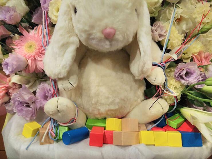 大泉学園ゆめりあホール 松澤くれは様の舞台「わたしの、領分」公演祝いスタンド花