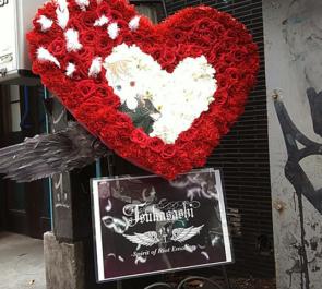 渋谷RUIDO K2 つかさし様のバースデーワンマンライブ公演祝いスタンド花
