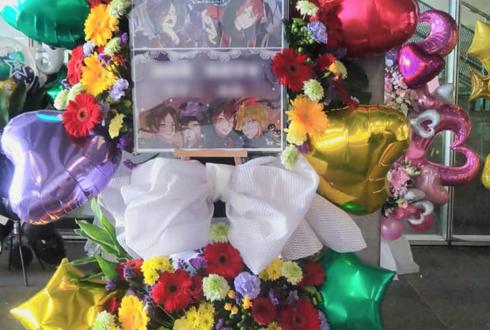 幕張メッセ 浦島坂田船様のライブ公演祝いフラワースタンド