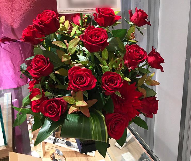 中野マルイ watchelt ウォッチェルト1492様の開店祝い花