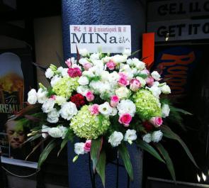 池袋RUIDO K3 MINa様のライブ公演祝い&誕生日祝いスタンド花