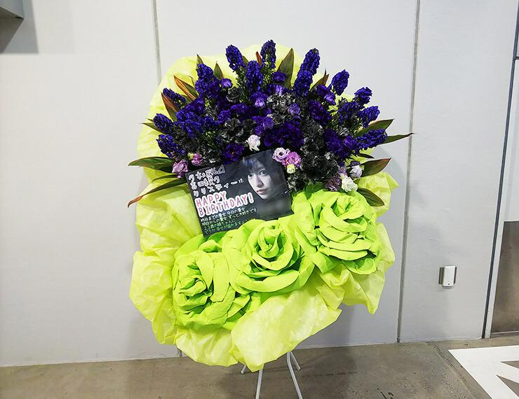 東京ビッグサイト 乃木坂46 吉田綾乃クリスティー様の握手会&生誕祭祝いスタンド花