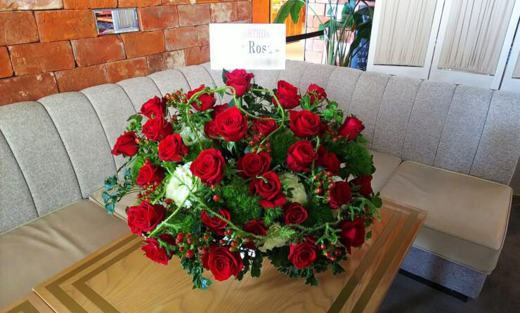 HANDS EXPO CAFE Nicky Rosa様のバースデーライブ公演祝い花