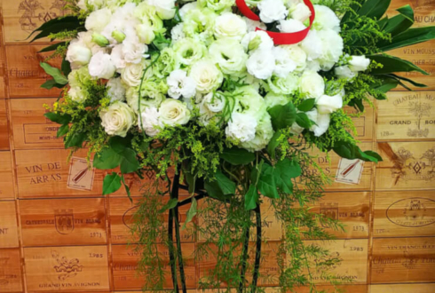高田馬場mono メルティハート 月島ほたる様のワンマンライブ&新加入祝いスタンド花
