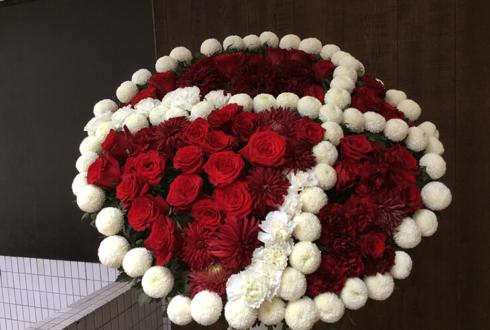 日本武道館 奥田民生様の武道館2daysライブ公演祝いロゴモチーフスタンド花