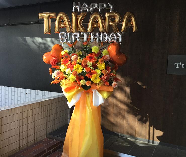 表参道GROUND LiKE 小田川楽空様の生誕ライブ公演祝いスタンド花