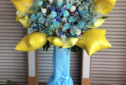 JOYSOUND 品川港南口店 志茂星哉様&大島洸士様の生誕祭祝いバルーンスタンド花