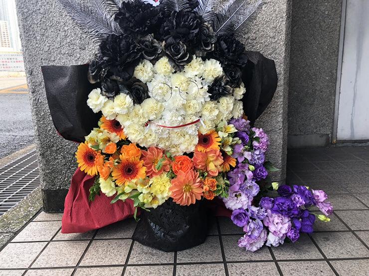 ニューピアホール 加藤将之様の「オーバーロードⅢ」ファンイベント祝い楽屋花