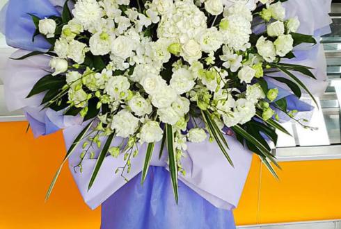 舞浜アンフィシアター 岡本信彦様のリーディングライブ出演祝い花束風スタンド花