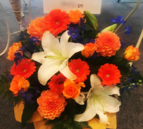 全労済ホール/スペース・ゼロ 前田隆太朗様のミュージカル出演祝い花