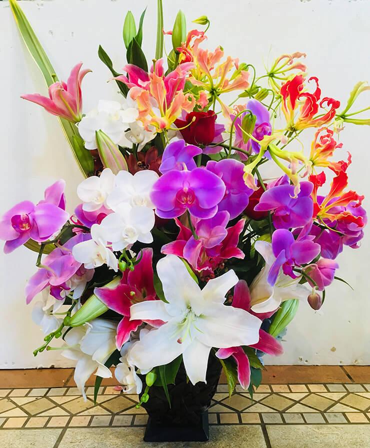 墨田区石原 ア-ルジェイエステ-ト様の開業祝い花