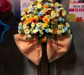 渋谷Sound Museum Vision TRUMP様のライブ公演祝いスタンド花