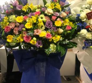 浅草六区ゆめまち劇場 佐藤慎亮様の主演舞台『リライト』公演祝い花束風スタンド花