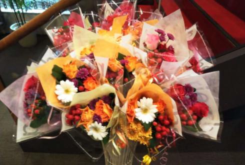 練馬文化センター フォンテーヌバレエ様のバレエ発表会花束スタンド花