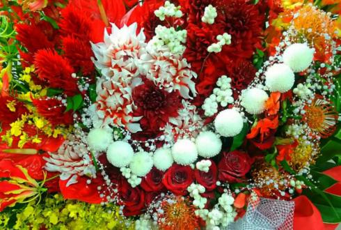 サントリーホール 高嶋ちさ子様のコンサート公演祝いスタンド花