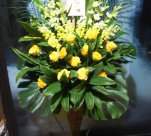 マイナビBLITZ赤坂 トゥインクル・コーポレーション 20周年記念イベント祝いコーンスタンド花