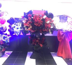 品川 ステラボール 松下優也様の10周年記念ライブ公演祝いスタンド花