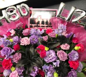 新宿レッドノーズ エリザベス・マリー様の生誕祭イベント祝い花束風スタンド花