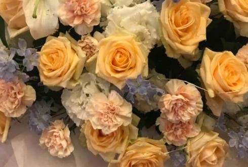 ニッショーホール 橘龍丸様のBASARA CLUB ファンミーティング出演祝い花束風スタンド花