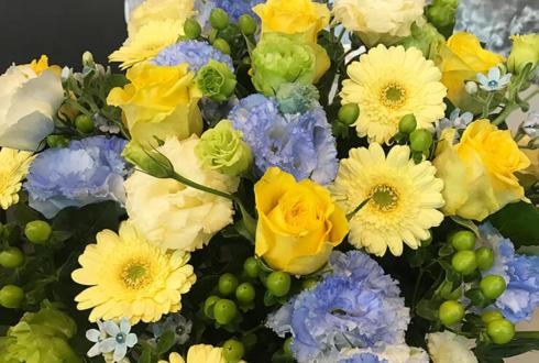 全労済ホール/スペースゼロ 長江崚行様の主演ミュージカル公演祝い花