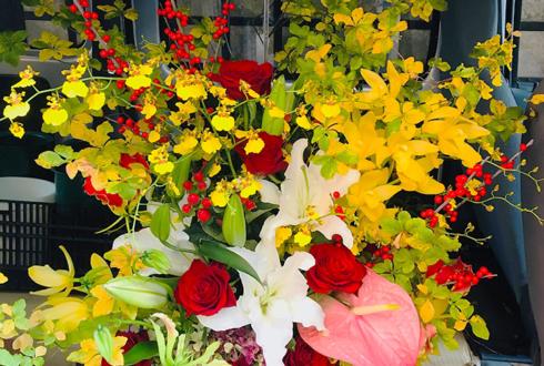 新橋 BAR LIEN様の開店祝い花