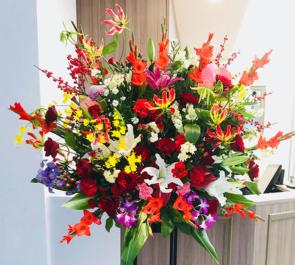 銀座 awa hair様の開店祝いスタンド花