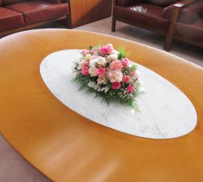 武蔵野市役所様のイベント用会場装花