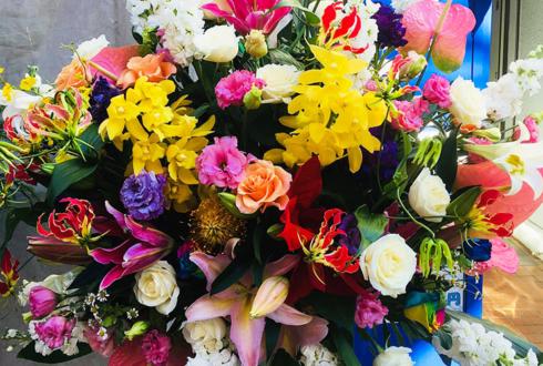 上野 ラーメン藪っか様の開店祝いスタンド花