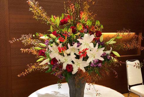 東京グランドホテル 第52回サインデザイン賞贈賞式壇上花
