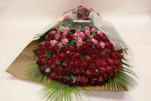 江戸川区 誕生日プレゼントにバラの花束