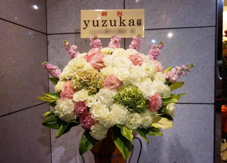 テアトルBONBON yuzuka様の舞台『悪夢のエレベーター』公演祝いコーンスタンド花
