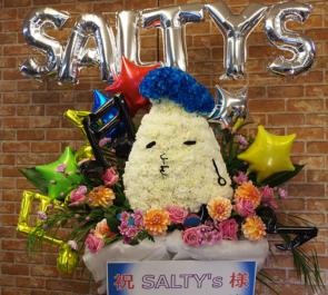 恵比寿リキッドルーム SALTY's様のワンマンライブ公演祝い モチーフデコフラスタ