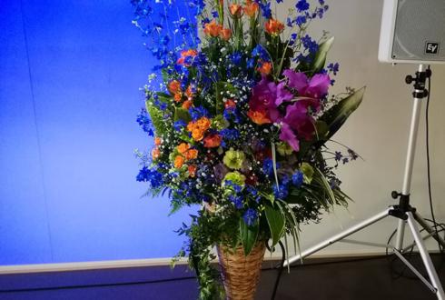 世田谷区 日本大学様の周年記念祝い壇上花
